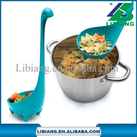 Special gift creative Nessie ladle and colander spoon