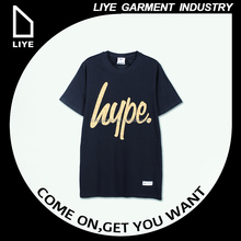 China Liye professional manufacturer high quality oem service o neck black ibs custom t-shirt