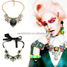 necklace embellished jewelry scarf,fashion bridal jewelry sets,crystal necklace wholesale