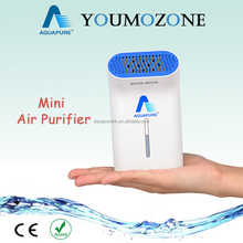 2016 Newest Tech! Portable negative ion air purifier with active oxygen