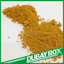 Iron Oxide Yellow Inorganic Pigment Iron Oxide Fe2O3 Price for Synthetic Track