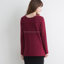 high quality latest design women high neck winter couple sweater