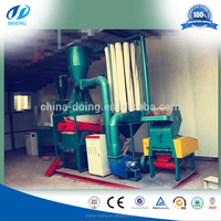 99% recycling rate scrap cable wire separating equipment copper wire recycling machine cable wire recycling machine
