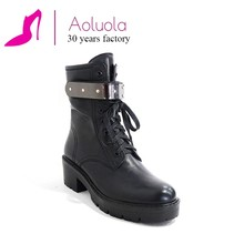 Custom made wholesale leather boot With Factory Wholesale Price