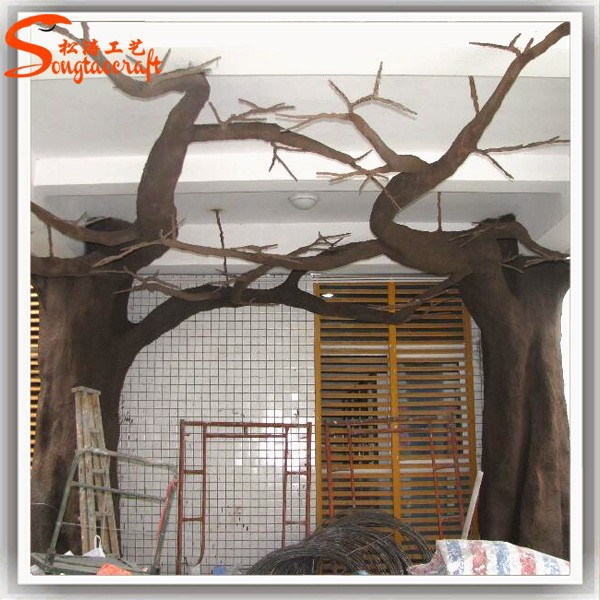Wholesale artificial dry tree without leaves for home for Artificial trees for home decoration
