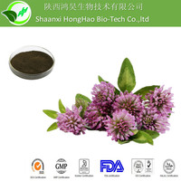 100% Pure Natural red clover extract isoflavones,red clover extract,red clover p.e.