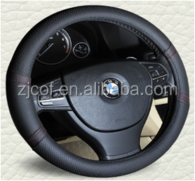 Genuine leather Car Steering Wheel Cover