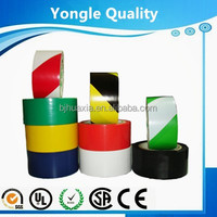 Yongle brand good quality of vehicle auto adhensive red and white reflective warning tape