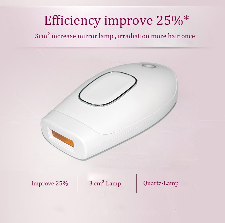 Portable electric IPL laser hair removal machine price,home use facial body electric depilador