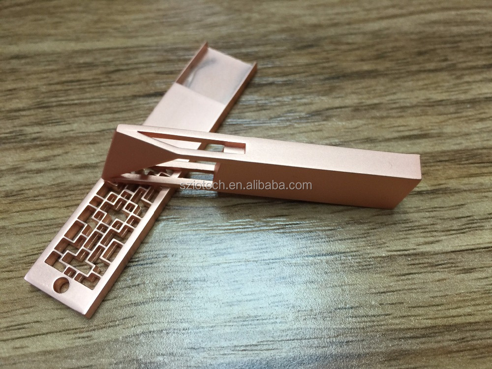 Promotional Gift Rose Gold Metal USB Flash Drive 8GB