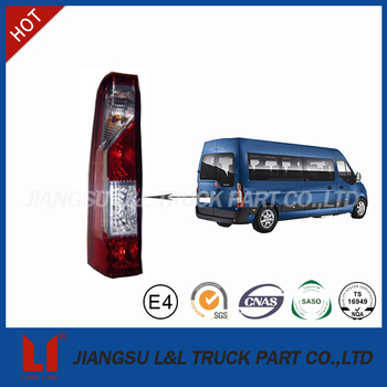 Truck rear tail lamp price for renault master new
