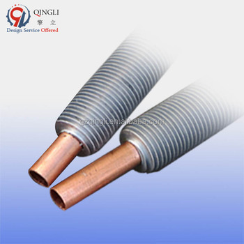 Aluminum extruded copper fin tube price