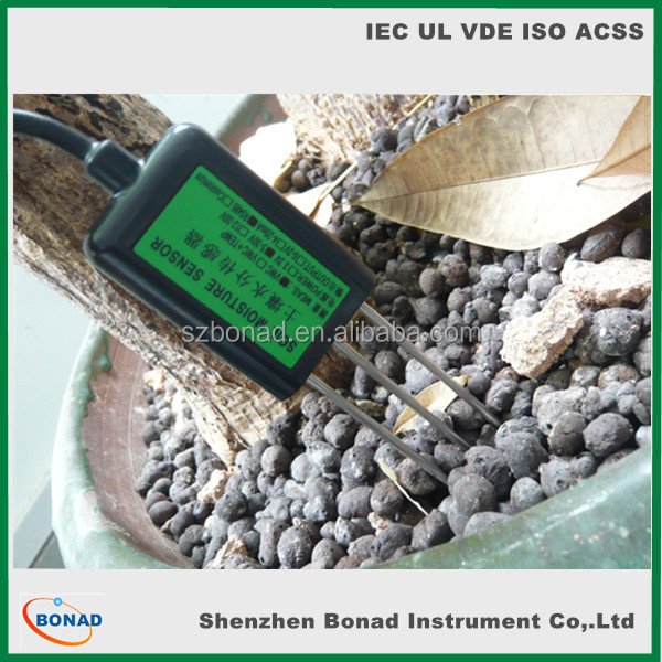 RS485 4-20mA soil moisture snsor with 70mm touch probe