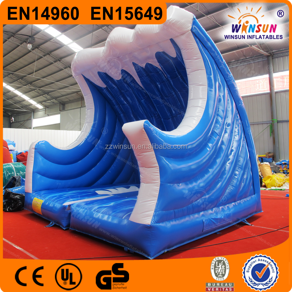 Mechanical surf riding, Mechanical Surfboard, Wave Inflatable Surf Simulator For Sale