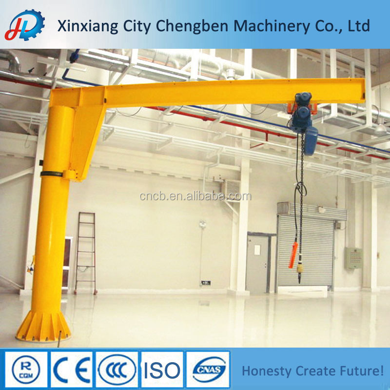 Safe Loading 360 Degree Rotating Loader Crane Jib