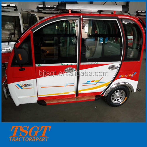 taxi use petrol engine tricycle with cabin