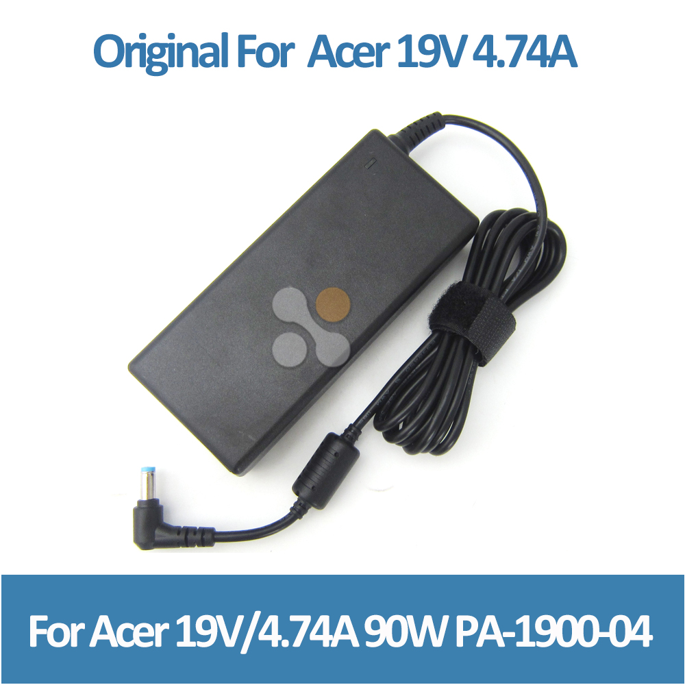 Original Genuine OEM universal plug adapter for Acer 19v 4.7a 90w notebook P/N ADP-90SB BB ADP-90SB ADP-90CD DB