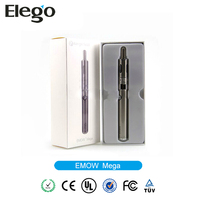 2014 New best seller kanger emow mega starter kit with evod vv 1600 mah