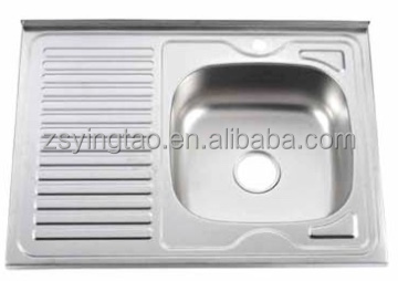 Kitchen Sinks Stainless Steel Weight,Corner Bathroom Sink Cabinet,Plastic Kitchen Sink Drain-YTS8060A