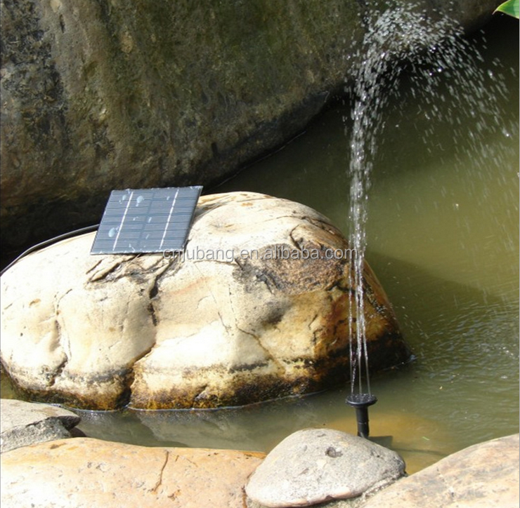 Wholesale Solar Water Pumps / Garden Solar Fountain / water pump for garden fountain