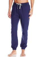wholesale cheap men's harem coat pant with side-seam pockets and elasticized waistband and cuffs and drawstring