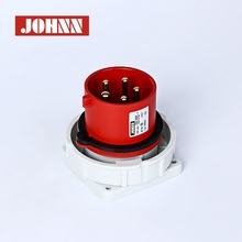 New products red waterproof IP67 industrial plug and socket
