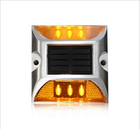 Manufacturer Sales Road Deck Driveway Pathway Blinker LED Road Stud Solar Flashing Light