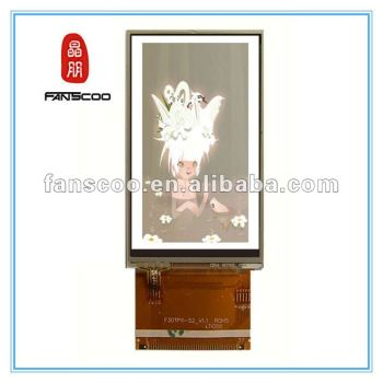 Low price 3.2 inch AUO panel LCD for Nokia x3-02 with touch panel