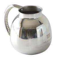 Newly Design Double-wall Stainless Steel Air Coffee Tea Hot Thermo Pots