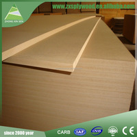 certificate for big size MDF board 1830 X 3660 X 16mm