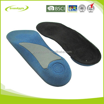 Foot Orhotics 3/4 Length Orthopedic Arch Support Insole for Flat Feet Orhotic Shoe Inserts