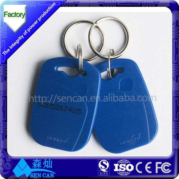 pvc rfid smart card maker EM4100 RFID pvc card and key tag