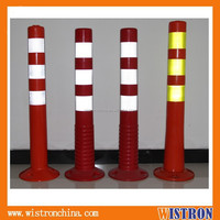 HT-SP-6 high quality flexible lane delineator post