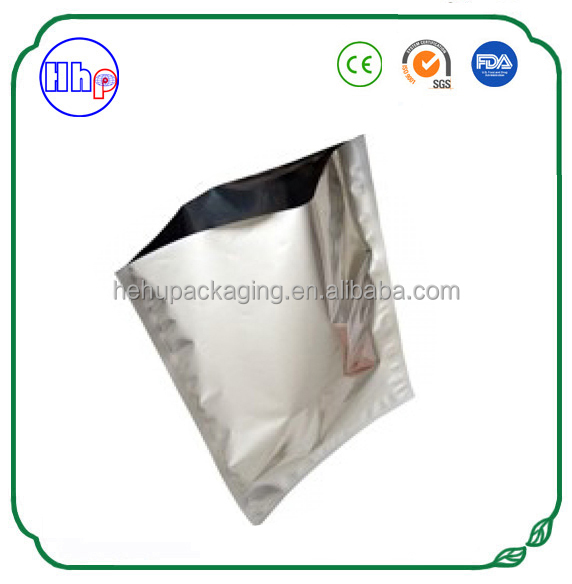 FDA approved aluminum foil silver vacuum food storage bags customized