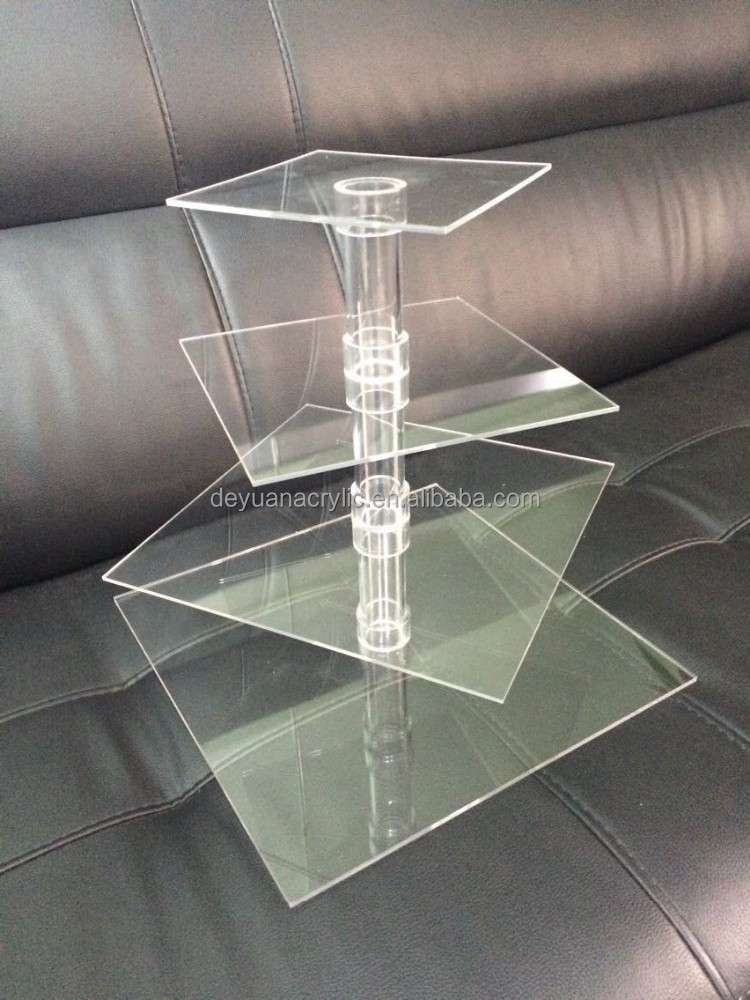 Plastic cupcake stand tiers/acrylic cupcake stand