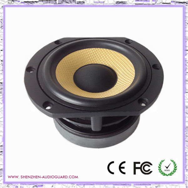 good sound kevlar 4 inch mid woofer speaker OEM 30w