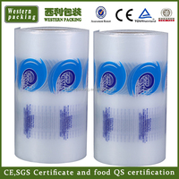 Polyethylene Packaging Stretch Film Thick Clear Plastic Bags on Roll