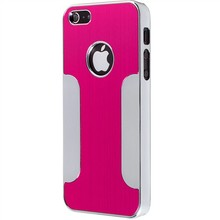 Wholesale for iphone 5 custom back cover case,Luxury Brushed Aluminum Chrome Hard Case Cover for iPhone 5 5G