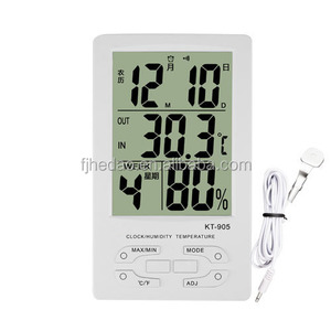 Decorative Indoor / Outdoor Thermometer and Hygrometer