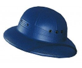 Navy Molded Sun Helmet