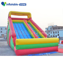 2016 Promotion christmas theme inflatable slide giant inflatable water slide