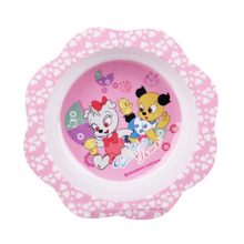 100% Melamine Unbreakable Baby Feeding Dinnerware Flower Bowl Melamine Tableware New Design