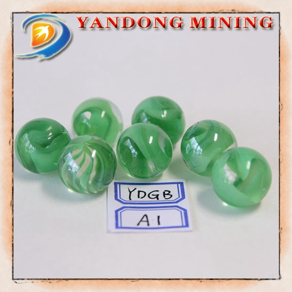 Glass balls in the cheap prices different kinds