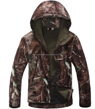 wholesale unisex camo waterproof breathable tactical military stock hunting jacket