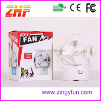 2015 novelty mini big hero fan,cartoon usb fan
