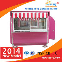 best food selling car/fast food car for sale