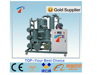 double stage vacuum transformer oil filtration unit,effectively dehydrating,degassing,regenerating oils