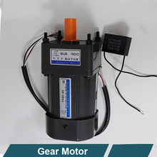 VTV YN90 90mm 110v ac single phase low rpm electric gear motor
