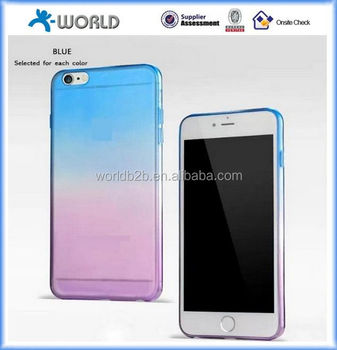 colorful high elastic smooth covers for iphone 6s with low price