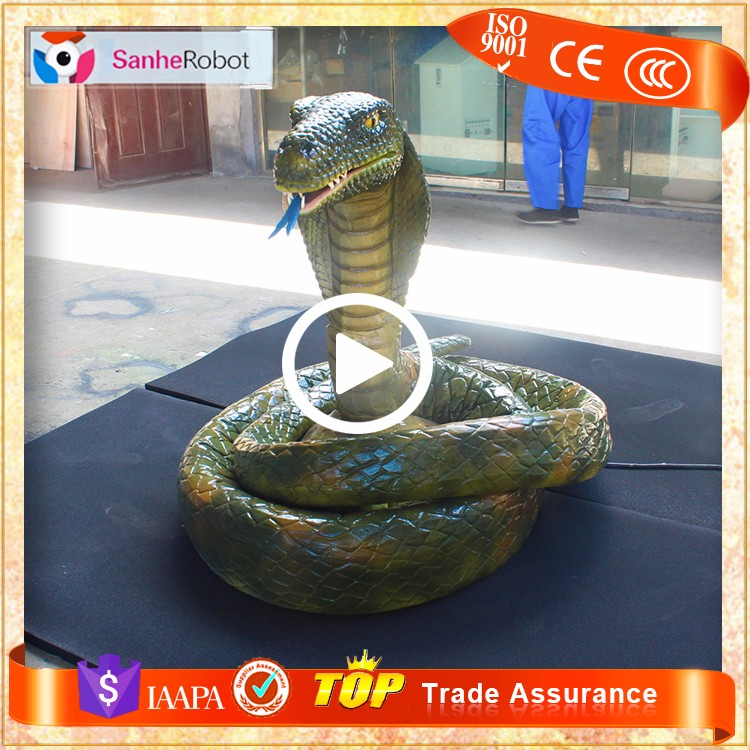 SH-RA266Artificial animatronic animal snake for sale